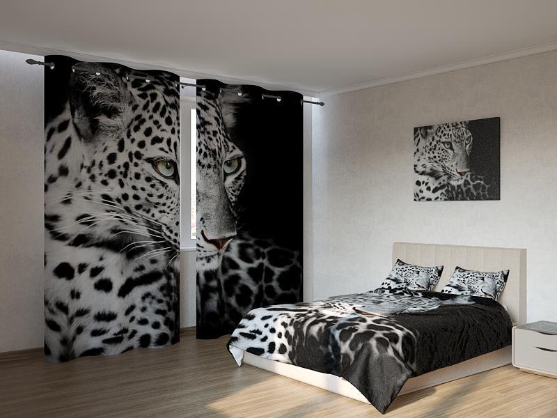 Фотокомплект Черно белый-леопард Код: ART 4138
