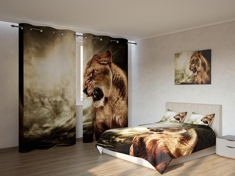 Фотокомплект Грозная львица Код: ART 4148