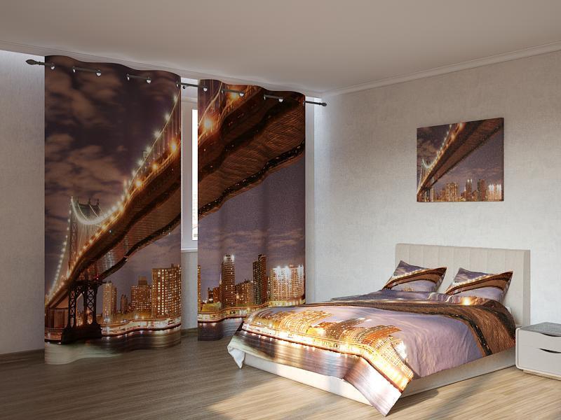 Фотокомплект Золотистый мост Код: ART 4163