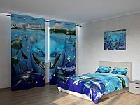 Фотокомплект Мультяшный подводный мир Код: ART 4175