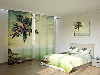 Фотокомплект Одинокая пальма Код: ART 4200