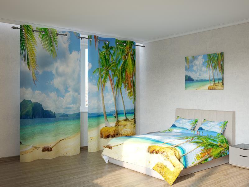 Фотокомплект Пальмы у моря Код: ART 4202