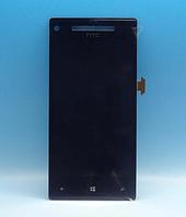 Оригинальный дисплей (модуль) + тачскрин (сенсор) для HTC Windows Phone 8X C620e (черный цвет)