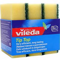 Губка кухонная классическая Tip-Top Vileda, 3 шт.