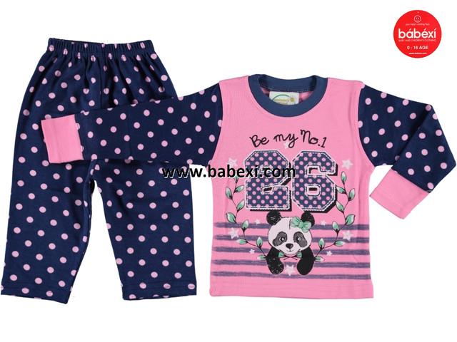 Пижама Панда на девочку 1-3 года