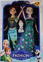 """Куклы из мультфильма """"Frozen"""" (Холодное сердце). Набор со снеговиком!"""