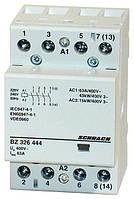 Контактор модульный BZ 63А 4НО 230В AC Schrack