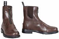 Кожаные ботинки для конного спорта, женские