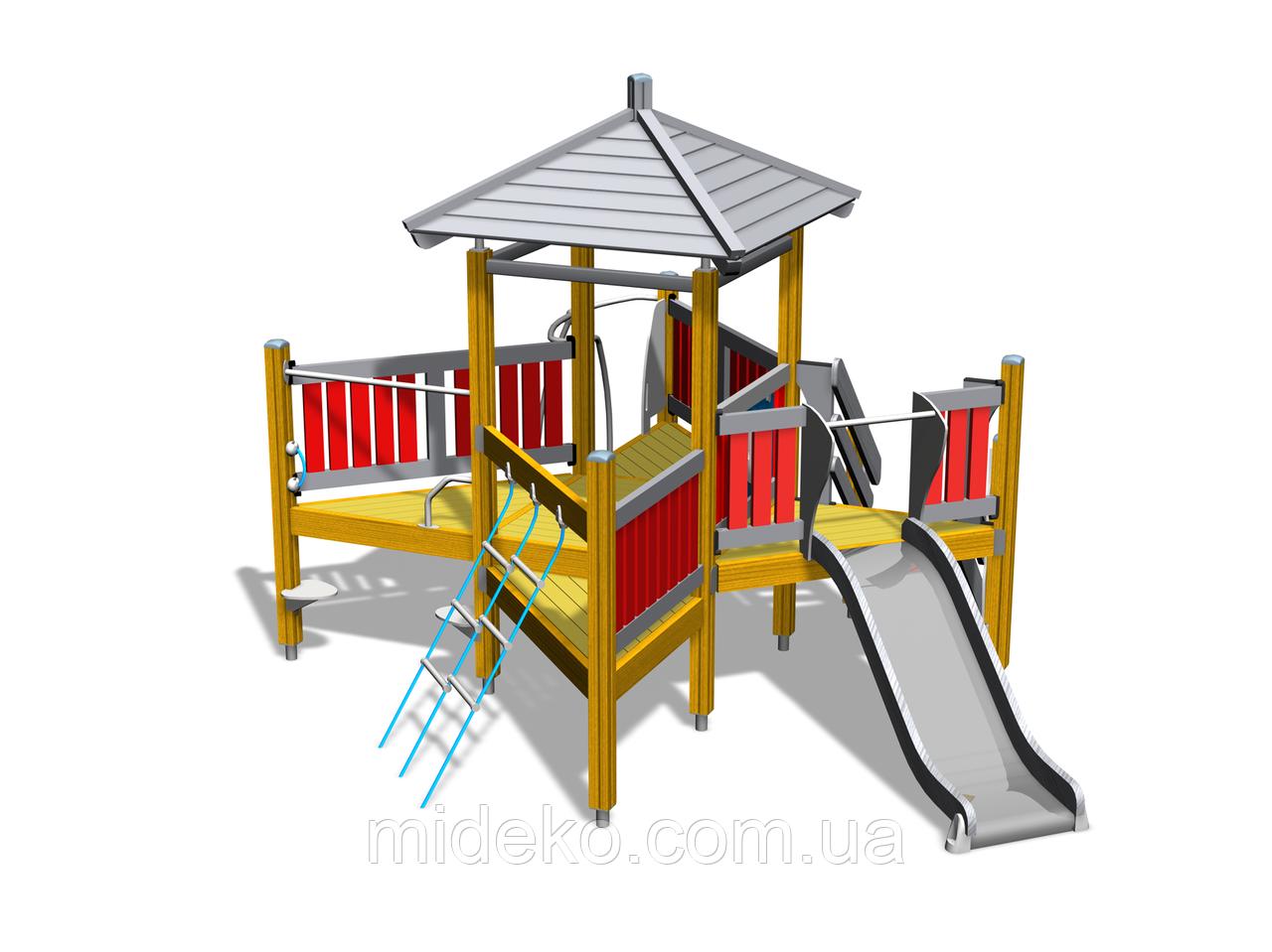 """Детский комплекс """"Дозорная башня"""""""