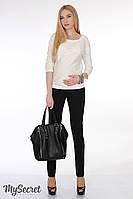 """Модные брюки для беременных """"Parker"""", из трикотажа джерси, черный, фото 1"""