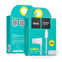 USB кабель Hoco HOCO L Shape Micro USB White