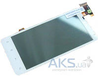 Дисплей (экран) для телефона HTC Raider 4G X710e + Touchscreen Original White