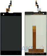 Дисплей (экран) для телефона Fly IQ4511 Tornado One + Touchscreen Black