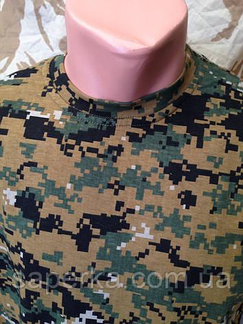 Футболка военная камуфляжная  MARPAT 100% Х/Б, фото 2