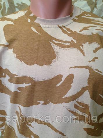 Футболка военная камуфляжная  DDPM 100% Х/Б, фото 2