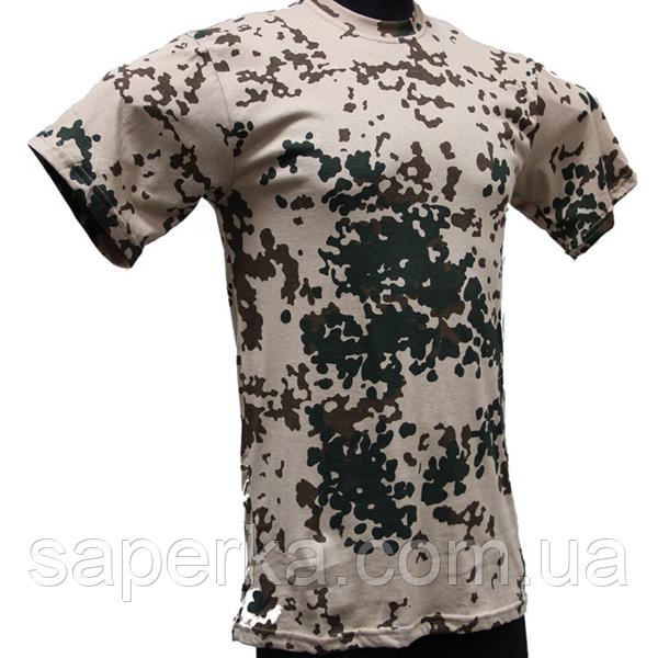 Камуфляжная тактическая футболка Tropentarn 100% Х/Б