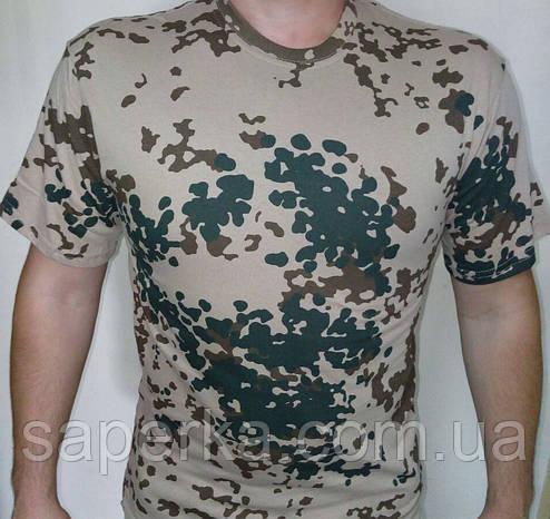 Камуфляжная тактическая футболка Tropentarn 100% Х/Б, фото 2