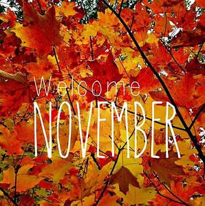 Очень сладкий и уютный ноябрь! Привет!