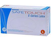"""Перчатки латексные опудренные нестерильные """"Safe-Touch E-Series"""" (р. M), (50 пар/уп)"""