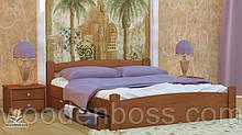 """Кровать односпальная от """" Wooden Вoss"""" Эмма (спальное место - 90х190/200)"""