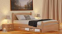 """Кровать двухспальная от """"Wooden Вoss"""" Эмма Экстра (спальное место - 180х190)"""