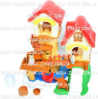 """Игровой набор """"Лесной домик"""" Happy Family с аксессуарами"""