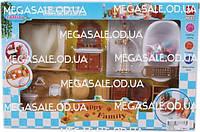 Игровой набор Ванная комната Happy Family 012-07 с мебелью и аксессуарами