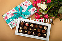 Сюрприз девушке 8 марта 21 конфета