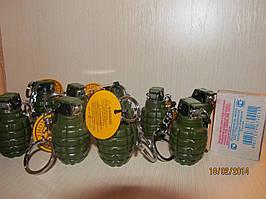 Зажигалка в виде гранаты высота 4,5 см