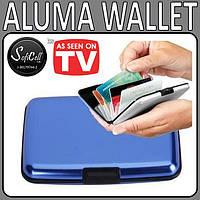 Бумажник, кошелек для кредиток и и бумажных купюр Aluma Wallet (Аллюма Уоллет)