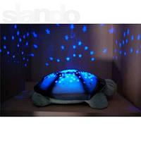Ночник черепаха Звездное Небо, музыкальная