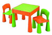 Комплект дитячих меблів Tega Baby Mamut (стіл + 2 стільці)