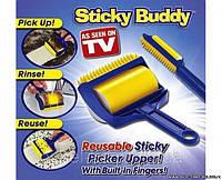 Набор липких валиков для уборки Sticky Buddy