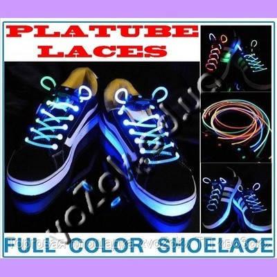Светящиеся светодиодные шнурки New LED Flashing Shoe Platube Laces -  Торговая площадка «voZok» ТП 218304513b08c