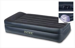 Кровать надувная велюровая Intex 66721