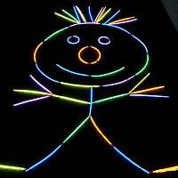 Светящиеся палочки 100 шт, неоновые палочки