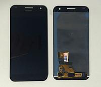 Оригинальный дисплей (модуль) + тачскрин (сенсор) для Huawei Ascend G7 (черный цвет)