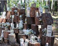 Декоративная деревянная стенка, фото 1