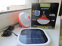 Лампа на солнечной батарее GD-5002B, светодиодная лампа, LED лампа