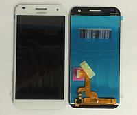 Оригинальный дисплей (модуль) + тачскрин (сенсор) для Huawei Ascend G7 (белый цвет)