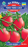 Семена томат Чио-чио-сан кисти с 50-60 розовыми сливовидными плодами