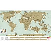 Скретч карта мира Scratch World Map (рус.)