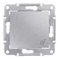 """Выключатель Schneider-Electric Sedna Кнопка """"звонок"""" алюминий ( SDN0800160 )"""