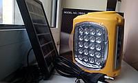 Фонарь с радио на солнечной батарее, светодиодная лампа GD- 7655 с USB и mр3 разъемом