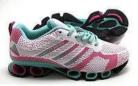 Кроссовки женские Adidas Bounce Titan розово-бирюзовые