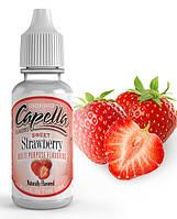Ароматизатор Sweet Strawberry (Сладкая клубника) - Capella