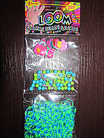 Набор для плетения браслетов, резинки, бусинки, украшения