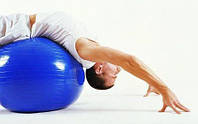 Мяч для фитнеса (фитбол) Gymnastic Ball 85 см, большой