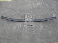 Лист рессоры №2 передний, заднего ГАЗ 3302 (75х11-1525) ( усиленный) без ушка (производитель Чусовая)
