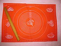 Силиконовый коврик для теста 64*45 см (c разметкой для коржей)